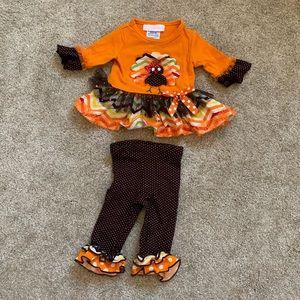 Bonnie Baby Turkey Outfit